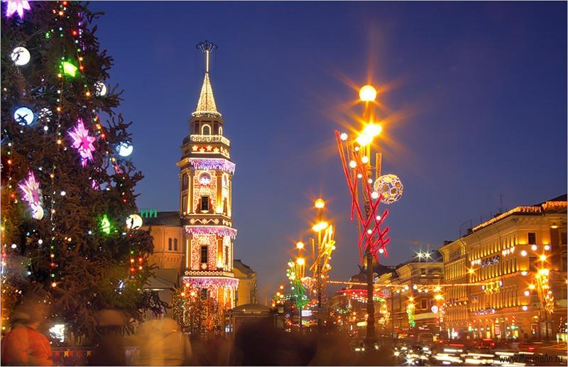 Рождество в Санкт-Петербурге!