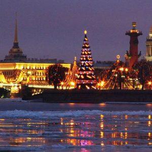 Автобусный тур в Санкт-Петербург на новый год из Тольятти Самары Сызрани Жигулевска